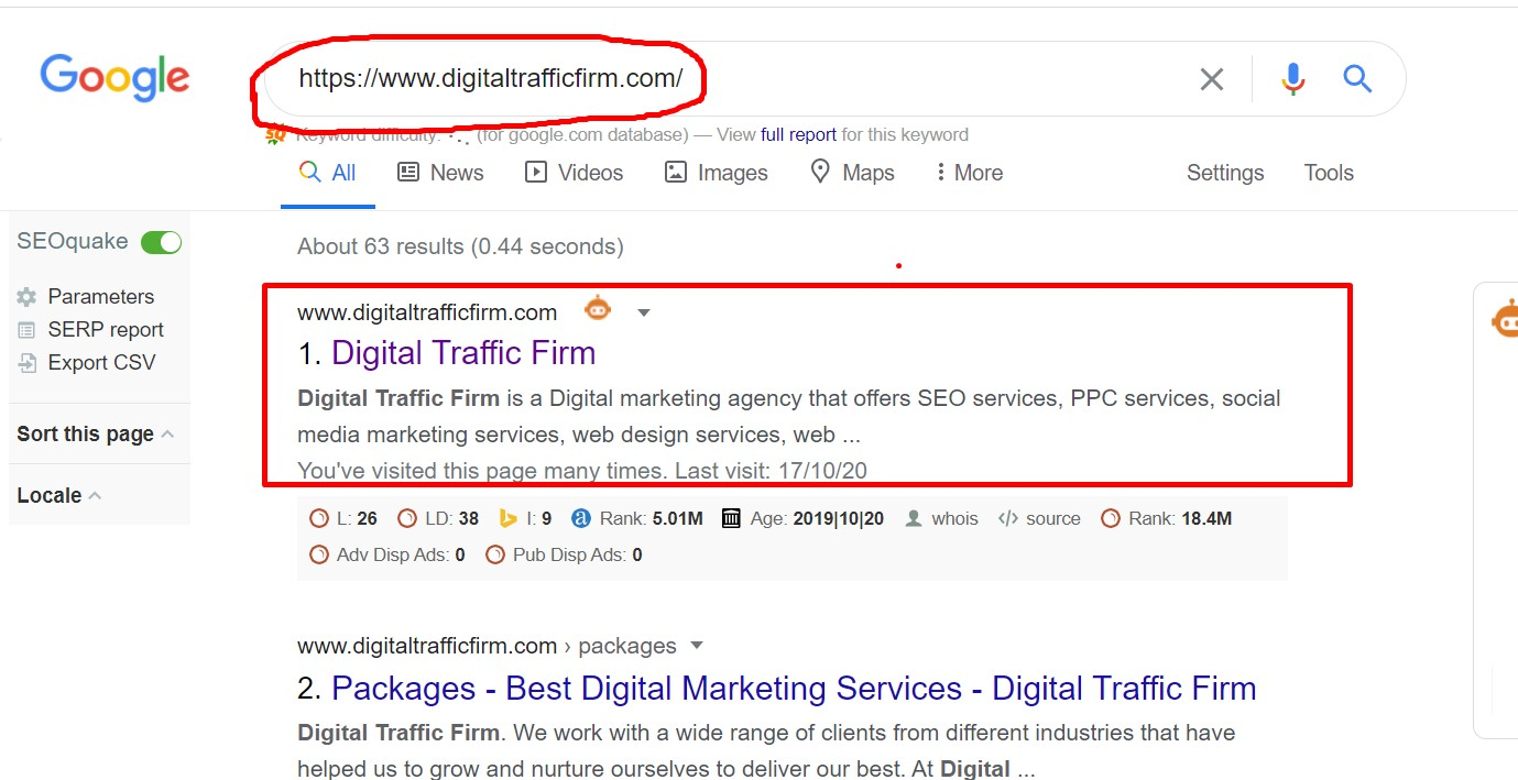 google indexing check step