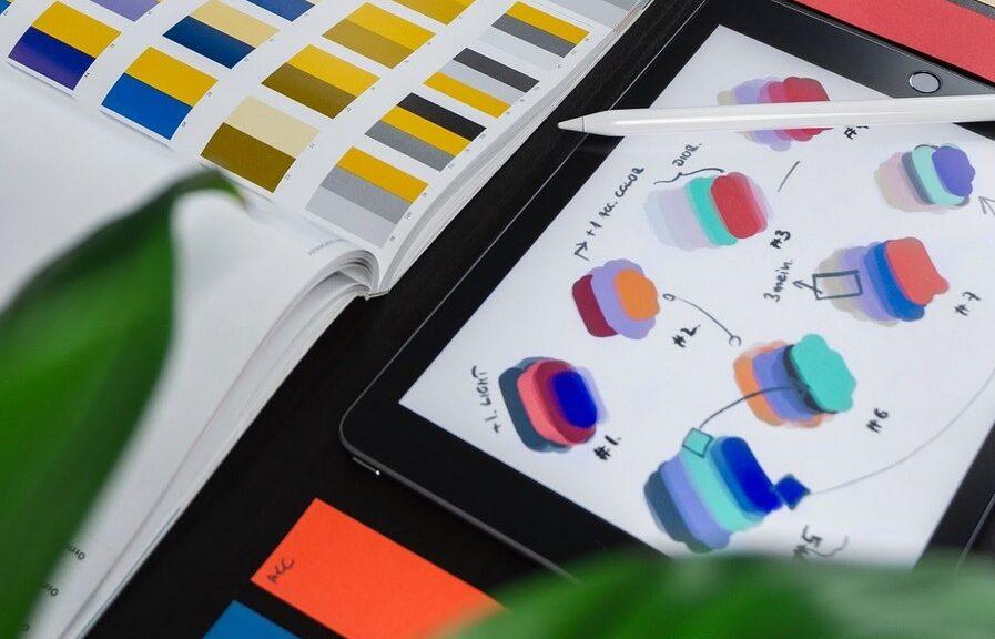 Online branding, seo, color effect